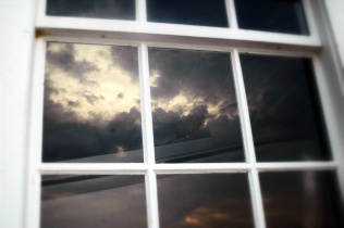 Clouds in the Cannery Window